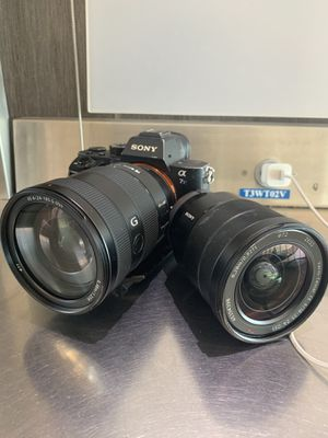 Sony a7s ii w lenses/batteries/chargers for Sale in City of Industry, CA