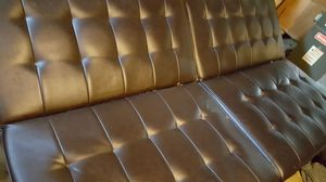 Leather Futon/couch for Sale in Philadelphia, PA
