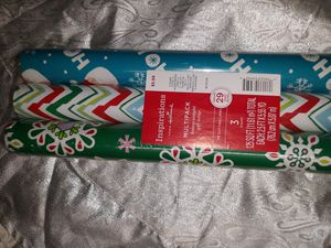 3 pack Wrapping Paper for Sale in Avondale, AZ