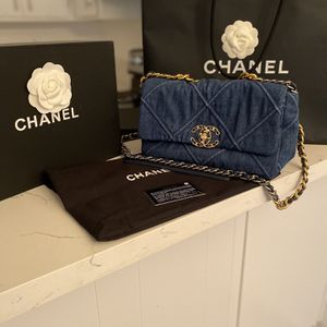 Chanel Denim Purse for Sale in Los Angeles, CA
