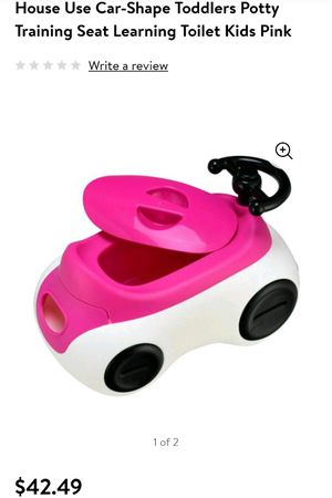Pink Car Toddler Potty Training Seat for Sale in Bakersfield, CA