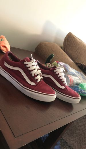 red vans size 9 for Sale in Angier, NC