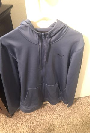 Puma hoodie jacket - medium for Sale in Florissant, MO