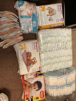 Mixed diaper lot for Sale in Kent, WA