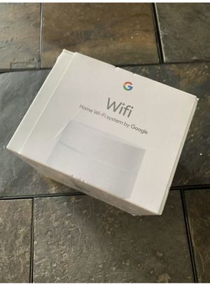 Google WiFi AC1200 Dual-Band Mesh Wi-Fi Router 1st Gen- AC-1304. Used like new. No lowballs. for Sale in Fresno, CA