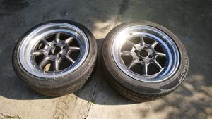 16x8 20 offset wheels 4x100 for Sale in Los Angeles, CA
