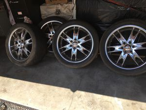 """Vogue 22"""" rims for Sale in Los Angeles, CA"""
