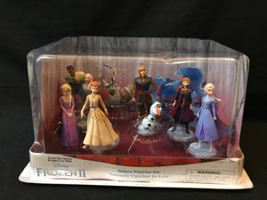 Disney Collection Frozen 2 Deluxe Figurine Set. for Sale in Santa Ana, CA