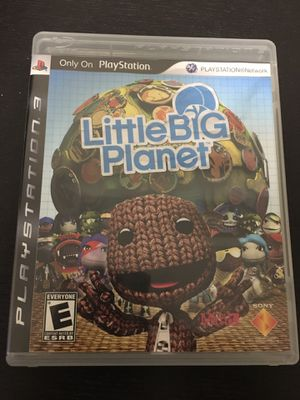 PS3 - Little Big Planet for Sale in Niles, IL
