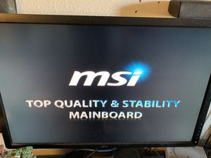 MSI 2.9ghz cpu 500gb hdd 4gb Ram with keyboard and wireless Logitech mouse. for Sale in Escondido, CA