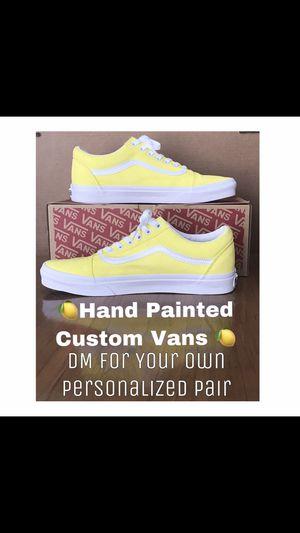 Hand Painted Custom Old Skool Vans for Sale in Dover, DE