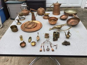 Vintage Copper and Brass Pieces for Sale in Virginia Beach, VA
