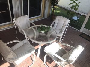 Outdoor Patio Furniture (Washable cushions included) for Sale in West Palm Beach, FL