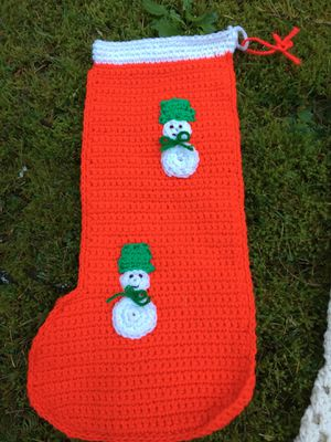 Handmade Christmas stockings for Sale in Silverdale, WA