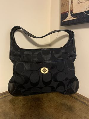 Coach hobo purse black for Sale in Highland Park, IL