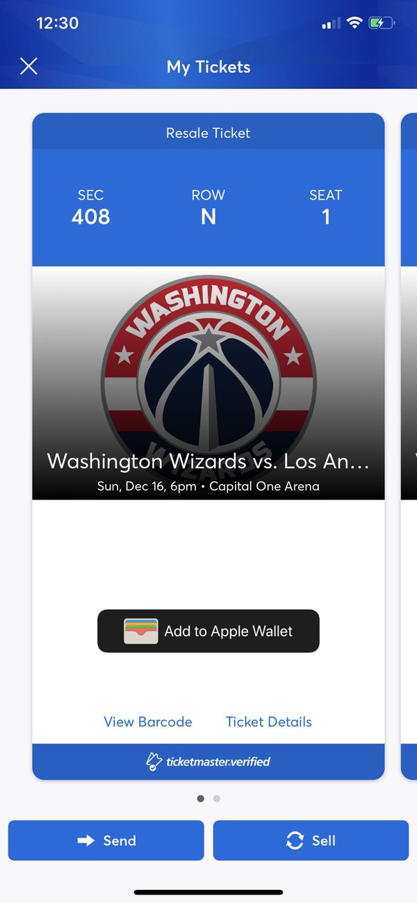 Wizards vs Lakers Games