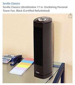 "Seville Classics 17"" Oscillating Fan for Sale in Plano, TX"