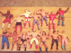 WWF 1980s rubber action figures for Sale in Nashville, TN