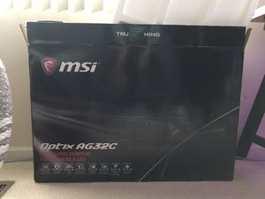 MSI Optix AG32C 32'gaming monitor for Sale in HOFFMAN EST, IL