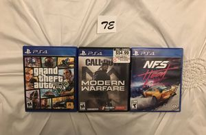 PS4 Game Bundle for Sale in Suffolk, VA