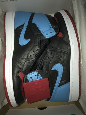 Jordan 1 High NC to CHI (W) Sizes 8, 8.5 and 10 (6.5 mens, 7 mens, 8.5 mens) Brand New for Sale in Queens, NY