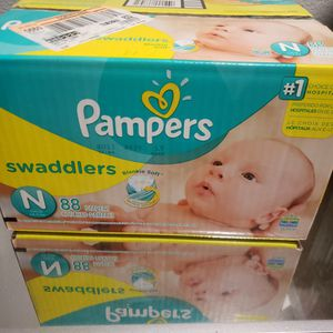 NEW PAMPERS NEWBORN BOX for Sale in Rialto, CA