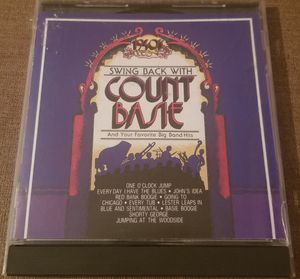 Swing Back with Count Basie CD for Sale in Three Rivers, MI