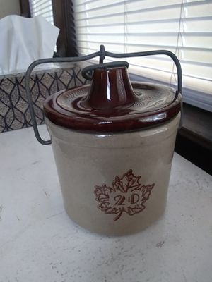 Stoneware cheese crock for Sale in Belleville, NJ