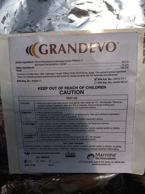 Grandevo Bio Insecticide 5LBS New Unopened for Sale in Miami, FL