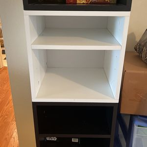 Black And White Cube Shelves And Drawers for Sale in Milwaukie, OR