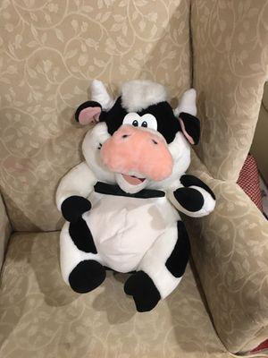 Large cow stuffed animal for Sale in Bellevue, WA