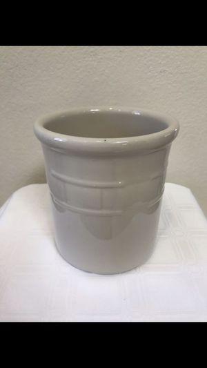 Vintage Longaberger Pottery Ivory Crock/Planter/Vase for Sale in Phoenix, AZ