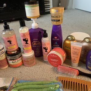 My Entire Natural Hair Bin -Starter Kit- Curly/Kinky Haircare for Sale in Portland, OR