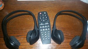 2 Bluetooth car headphones with remote for Sale in San Antonio, TX