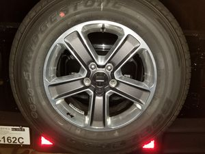 5 BRAND NEW Bridgestone Dueler Tires (came off of Jeep Wrangler Sahara) for Sale in Alexandria, VA