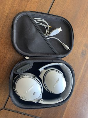 Bose Quiet Comfort Headphones for Sale in Clovis, CA