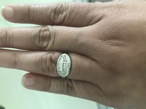 Tiffany ring size 6 for Sale in Cypress, TX