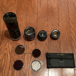 Lot Of Camera Lenses for Sale in Manassas, VA