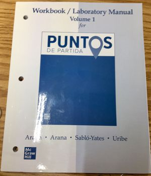 Spanish workbook college textbook NEW for Sale in Park Ridge, IL
