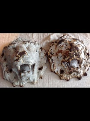 Antique Lions Heads wall fixtures for Sale in New York, NY