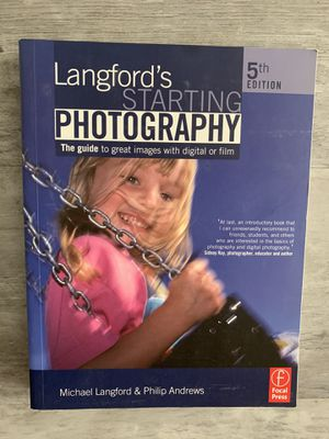 Starting Photography Book for Sale in Selma, CA