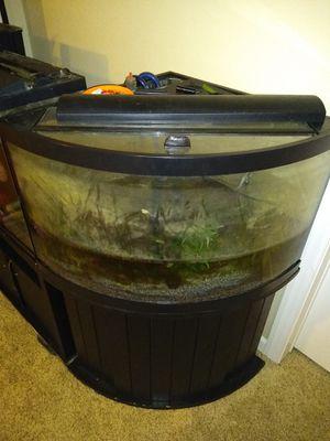 Corner 90° fish tank! for Sale in Stafford, VA