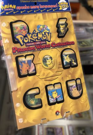 Pokemon World Collection 2000 Flactory Sealed for Sale in Lakeland, FL