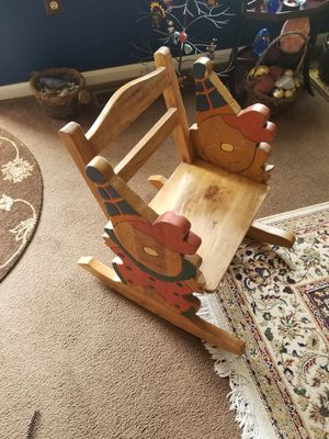 Well Made Antique Childrens Rocking Chair for Sale in York, PA
