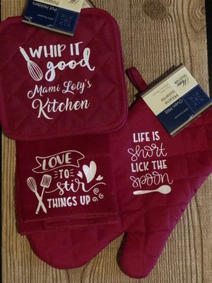 Set of kitchen Pot holders for Sale in Kissimmee, FL