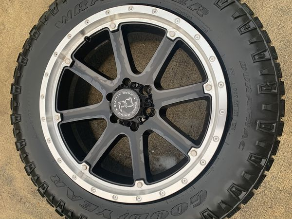 """Authentic Black Rhino Hard Alloys Rims Wheels and Tires 20"""" inch"""