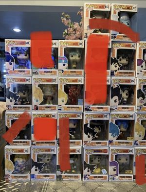 Funko pop must pick up for Sale in Los Angeles, CA