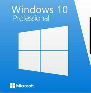 Windows 10 Install/Upgrade! Lifetime Activation Key + USB Installer for Sale in Miami, FL