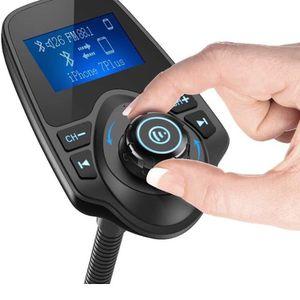 Nulaxy Bluetooth Car FM Transmitter Audio Adapter Receiver Wireless Handsfree for Sale in Anaheim, CA
