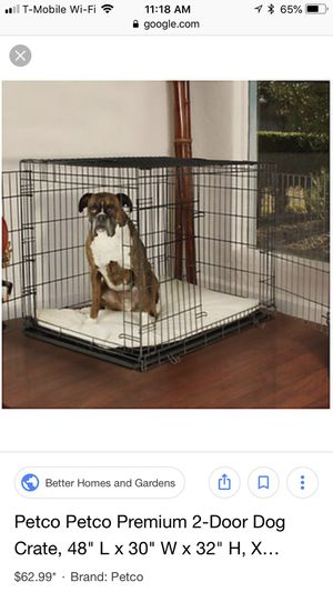 Xl dog cage crate new 48x30x32 for Sale in Cleveland, OH